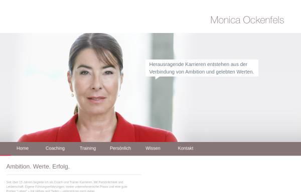 Vorschau von monica-ockenfels.de, P-Liner Consulting GmbH
