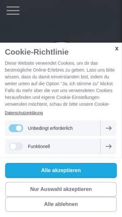 Vorschau der mobilen Webseite www.fsmc-konstanz-ev.de, Flug- und Schiffsmodellbau Club Konstanz - Bodensee e.V.
