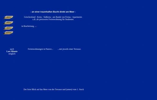Vorschau von bluebay-ferienwohnungen-studios.ferienwohnungen-insel-kreta.de, BlueBay-Ferienwohnungen, Ferma