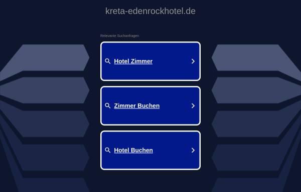Vorschau von www.kreta-edenrockhotel.de, Eden Rock Hotel, Ierapetra