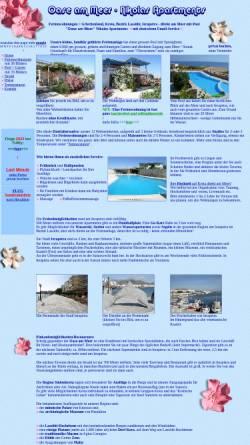 Vorschau der mobilen Webseite www.ferienwohnungen-insel-kreta.de, Oase-Apartments, Ierapetra