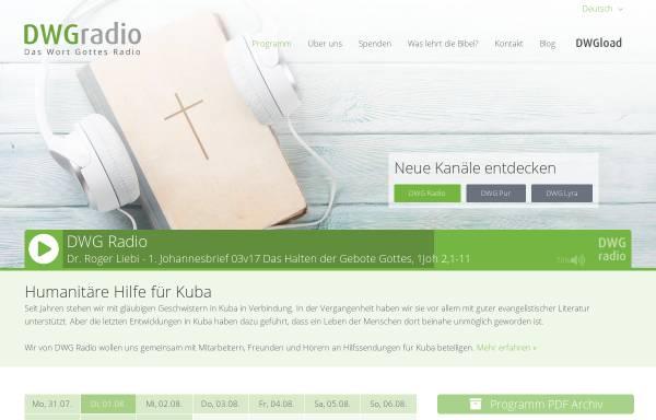 Vorschau von dwgradio.net, DWG Radio