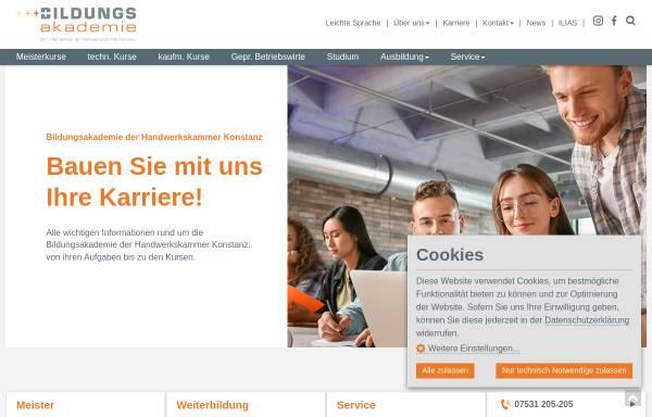 Vorschau von www.gewerbe-akademie.de, Gewerbe-Akademie