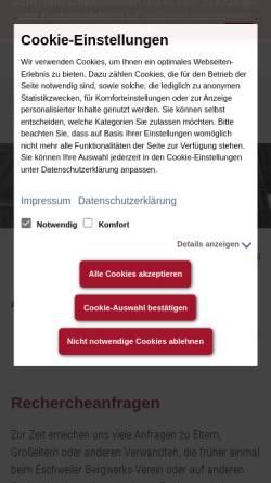 Vorschau der mobilen Webseite www.bergbaumuseum-grube-anna2.de, Bergbaumuseum Grube Anna II