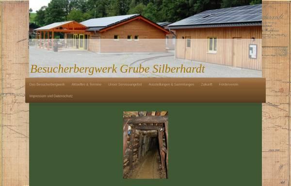 Vorschau von www.grube-silberhardt.de, Besucherbergwerk Grube Silberhardt