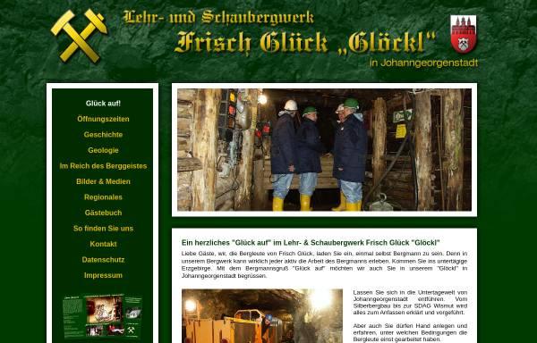 Vorschau von www.frisch-glueck.de, Lehr- und Schaubergwerk Frisch Glück-Glöckl