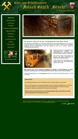 Vorschau der mobilen Webseite www.frisch-glueck.de, Lehr- und Schaubergwerk Frisch Glück-Glöckl