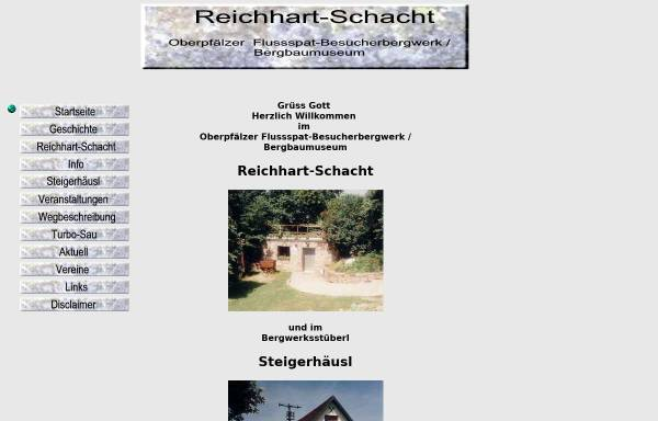Vorschau von www.reichhart-schacht.de, Reichhart-Schacht