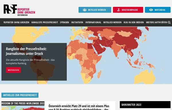 Vorschau von www.rog.at, Reporter ohne Grenzen
