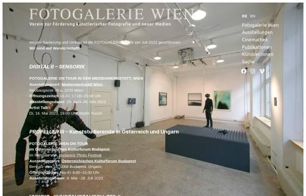 Vorschau von www.fotogalerie-wien.at, Fotogalerie Wien