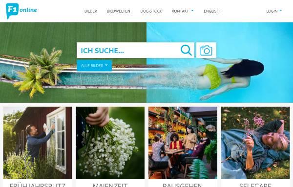 Vorschau von www.f1online.de, F1 ONLINE Digitale Bildagentur