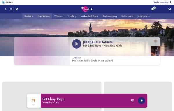 Vorschau von www.dasneueradioseefunk.de, Radio Seefunk