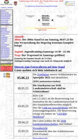 Vorschau der mobilen Webseite www.sgkonstanz.de, Schützengesellschaft der Stadt Konstanz 1438 e.V.