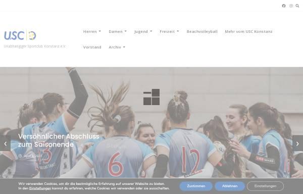 Vorschau von www.usc-konstanz.de, Unabhängiger Sportclub