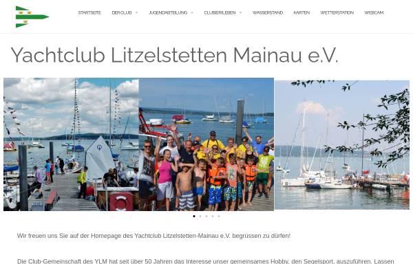 Vorschau von www.ylm.de, Yachtclub Litzelstetten Mainau e.V.