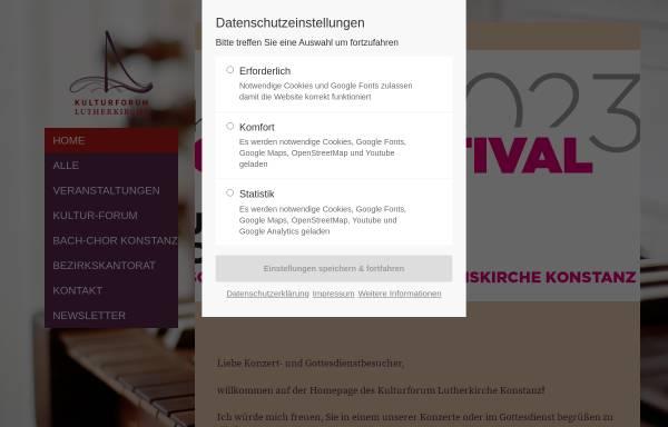 Vorschau von www.bach-chor-konstanz.de, Bach-Chor Konstanz