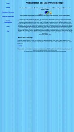 Vorschau der mobilen Webseite www.thomasirsch.de, Familie und ihre Campingerlebnisse