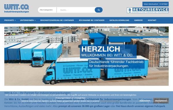 Vorschau von www.awico.com, A.Witt + Co. GmbH
