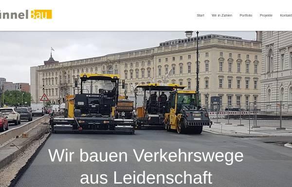 Vorschau von guennel-bau.de, Thesenvitz GmbH & Co. KG