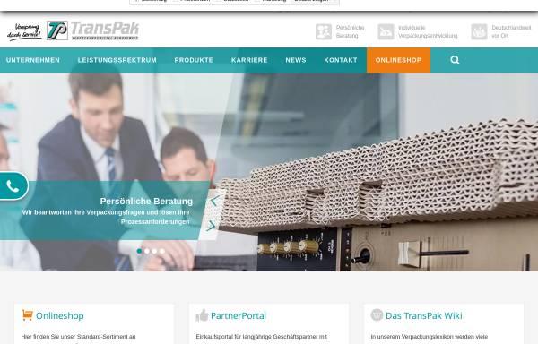 Vorschau von www.transpak.de, TransPak AG