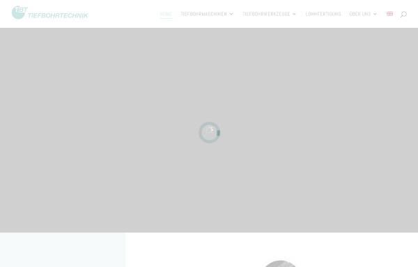 Vorschau von www.tbt.de, TBT Tiefbohrtechnik GmbH + Co