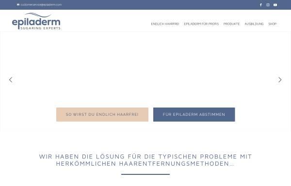 Vorschau von www.epiladerm.de, Danlab Ltd.