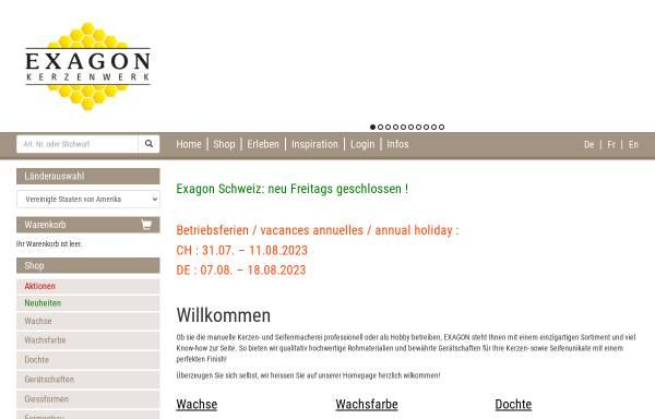Exagon: Kerzen, Basteln exagon.ch
