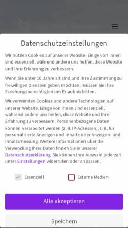 Vorschau der mobilen Webseite www.staake.de, Staake - Investment & Consulting GmbH & Co. KG