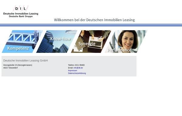 Vorschau von www.deutsche-immobilien-leasing.de, DIL Deutsche Immobilien Leasing GmbH