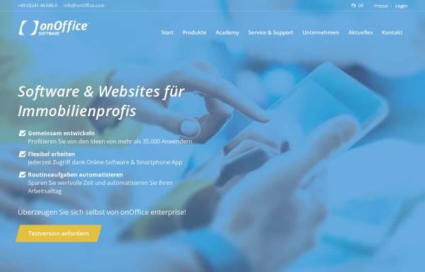 Vorschau von de.onoffice.com, onOffice GmbH