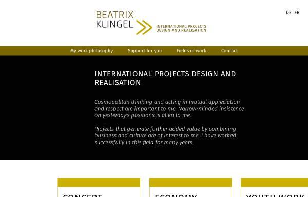 Vorschau von www.beatrixklingel.de, Klingel Consult oHG