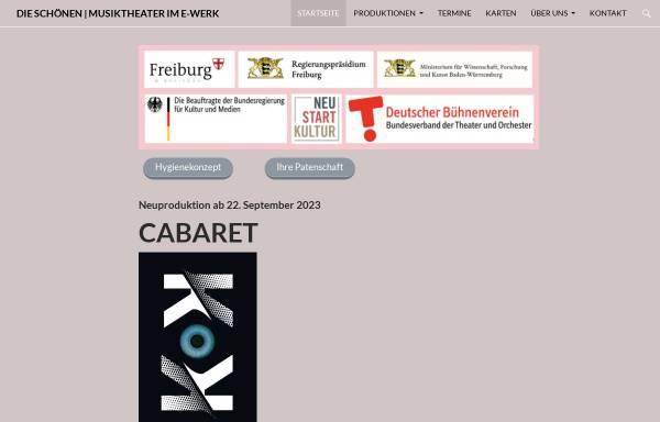 Vorschau von www.wolfgang-und-kern.de, Musiktheater