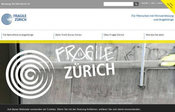 Vorschau von www.fragile.ch, Fragile Suisse