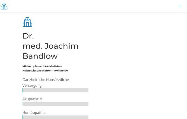 Vorschau von www.praxis-dr-bandlow.de, Dr. med. Joachim Bandlow