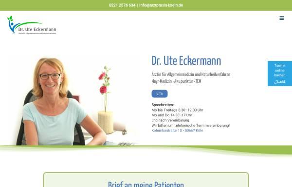 Vorschau von www.arztpraxis-koeln.de, Arztpraxis für Allgemeinmedizin und Naturheilkunde Christine Auhagen