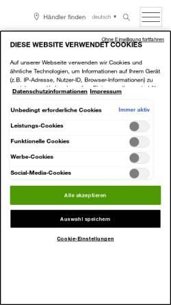 Vorschau der mobilen Webseite www.logona.de, Logona Naturkosmetik und Heilmittel