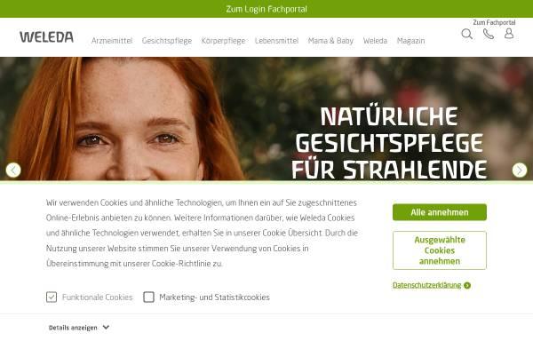 Vorschau von www.weleda.de, Weleda AG