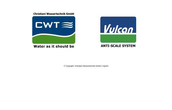 Vorschau von www.cwt-international.com, Christiani Wassertechnik GmbH