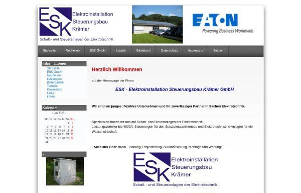 Vorschau von www.e-s-k-gmbh.de, ESK GmbH