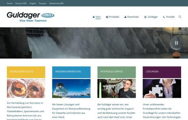 Vorschau von www.guldager.ch, Guldager (Schweiz) AG