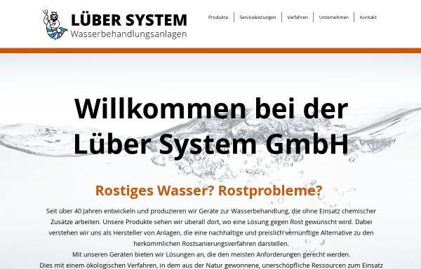 Vorschau von www.luebersystem.ch, Lüber System GmbH