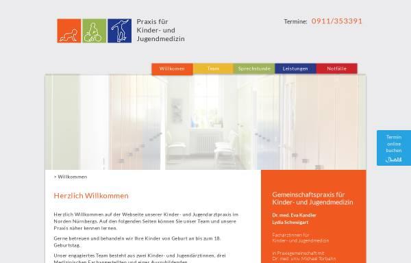 Vorschau von www.kandler-schweigart.de, Dr. Eva Kandler und Lydia Schweigart