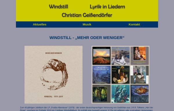 Vorschau von www.christian-geissendoerfer.de, Dr. med. Christian Geissendörfer