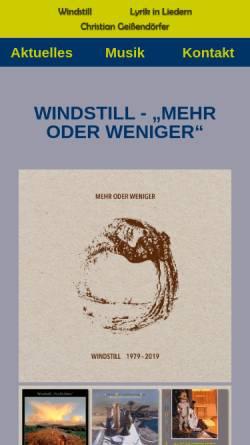 Vorschau der mobilen Webseite www.christian-geissendoerfer.de, Dr. med. Christian Geissendörfer