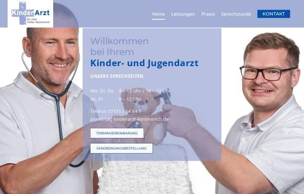 Vorschau von www.kinderarzt-kemmerich.de, Kinderarztpraxis Kemmerich