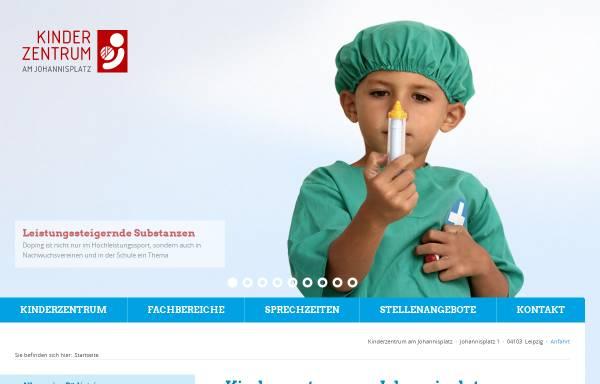 Vorschau von www.kinderzentrum-am-johannisplatz.de, Kinderzentrum am Johannisplatz