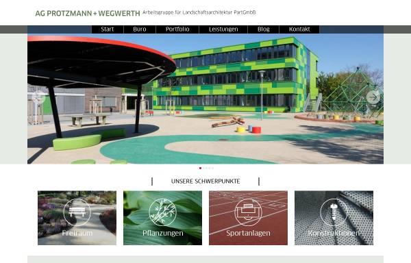 Vorschau von www.protzmann-wegwerth.de, Hortus speciale - AG Protzmann+Wegwerth
