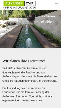 Vorschau der mobilen Webseite www.la-over.de, Over, Alexander