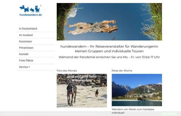 Vorschau von www.hundewandern.de, Natours Reisen GmbH