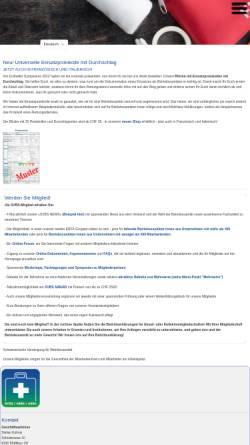 Vorschau der mobilen Webseite www.svbs-asse.ch, Schweizerische Vereinigung für Betriebssanität